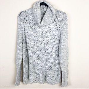 Sanctuary | cream knit cowl neck sweater
